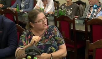 Przedstawiciel KRS opuścił obrady Komisji Sprawiedliwości po wymianie zdań z K. Pawłowicz