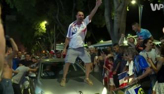 Francja oszalała po triumfie nad Niemcami. Zobacz euforię kibiców Trójkolorowych