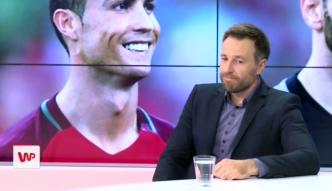 #dziejesienaeuro. Maciej Żurawski o kontuzji Ronaldo: Było mi smutno, to mógł być ostatni finał Cristiano