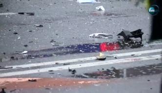 Groźny wypadek w centrum Krakowa