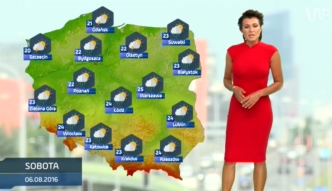 Prognoza pogody na 6 sierpnia (plus dwa kolejne dni)