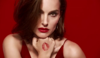 Natalie Portman reklamuje pomadkę Dior