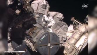 Wielogodzinny spacer astronautów z ISS w przestrzeni kosmicznej