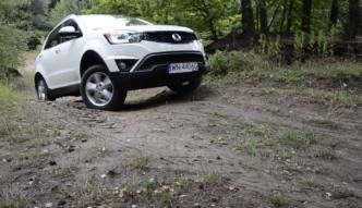 SsangYong Korando D2.0T - napęd 4x4 - test Autokult.pl