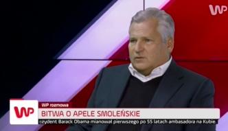 Kwaśniewski u Sierakowskiego: zabiegi o spotkanie z Anodiną są niezrozumiałe