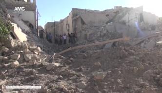 Aleppo pod bombami, armia kontynuuje ofensywę