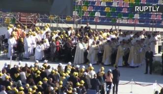 Prawosławna delegacja zignorowała papieża