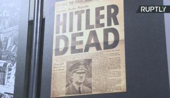 Niemcy odtworzyli pokój, w którym Hitler spędził swoje ostatnie chwile