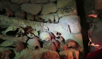 Weszła do zakazanej części paryskich katakumb