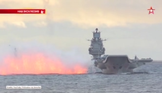 Flota rosyjskich okrętów już na Morzu Śródziemnym. Kierują się do Syrii