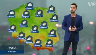 Prognoza pogody na 4 listopada (plus dwa kolejne dni)