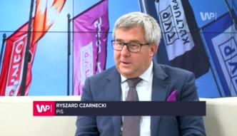 Ryszard Czarnecki w #dziejesięnażywo o min. Gllińskim