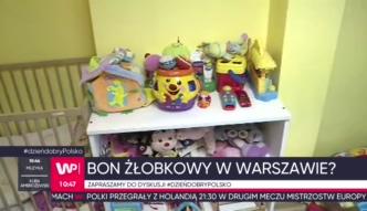 Bon żłobkowy. 400 zł na dziecko w Warszawie