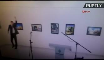 Mamy nagranie z zamachu na ambasadora Rosji w Turcji