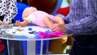 Pierwsza pomoc w przypadku zadławienia u dziecka