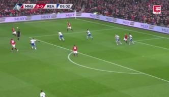 Puchar Anglii: Manchester United odprawił z kwitkiem pierwszoligowca [ZDJĘCIA ELEVEN SPORTS]