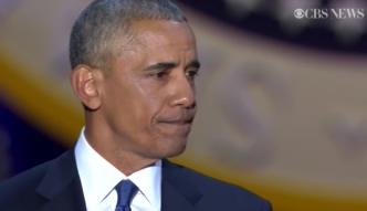 Wzruszony Obama dziękuję żonie: