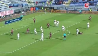 Cagliari - Genoa. Wysokie zwycięstwo gospodarzy, grał Bartosz Salamon. Zobacz skrót [ZDJĘCIA ELEVEN]