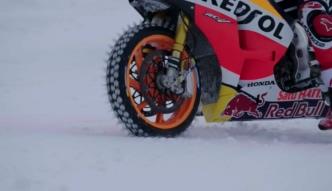 Motocykl MotoGP na stoku narciarskim? Szalony pomysł Marca Marqueza i Franky Zorna