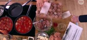 Pulpeciki w sosie pomidorowym i koperkowym