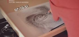 Niezwykłe obrazy niepełnosprawnego artysty