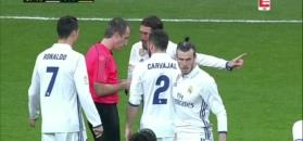 Karygodne zachowanie i czerwona kartka Garetha Bale'a [ZDJĘCIA ELEVEN]