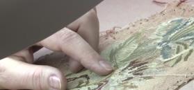 Jak w muzeach odrestaurowuje się tkaniny?
