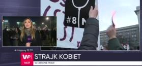 Strajk kobiet. Jak manifestacja przebiegała w Warszawie?