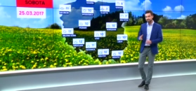 Prognoza pogody na 25 marca