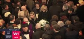 Pogrzeb Wojciecha Młynarskiego. Tłumy pożegnały mistrza