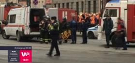 Zamach w petersburskim metrze. Nie żyje 11 osób