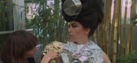 Kukulska nagrywa nowy teledysk z garnkami na głowie