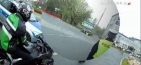 Policja poszukuje motocyklisty