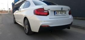 BMW M240i xDrive - dźwięk wydechu