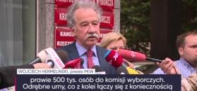 Wspólne referendum i wybory samorządowe? PKW: Trzeba by kupić urny za 30 mln złotych