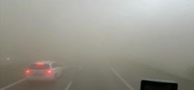 #dziejesiewmoto: kierowcy zaskoczeni znacznym ograniczeniem widoczności