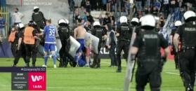 Rozróby na meczu Ekstraklasy