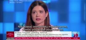 Shaded ostro o muzułmanach w TVP Info
