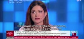 Miriam Shaded apeluje w TVP Info: