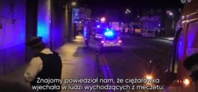 """Świadek zamachu w Londynie: """"Zobaczyliśmy leżących ludzi i karetki, które zabierały rannych"""""""
