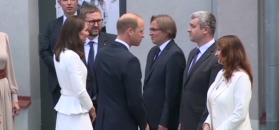 Księżna Kate i książę William w Muzeum Powstania Warszawskiego