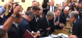 Tak zaczęła się szarpanina w Sejmie