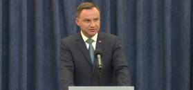 Weto prezydenta. Pełne oświadczenie Andrzeja Dudy
