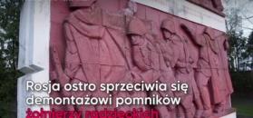 Demontaż radzieckich pomników. Rosja chce sankcji dla Polski