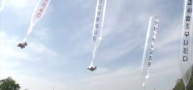 Balonowy nalot informacyjny na Kim Dzong Una