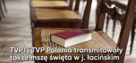 Coraz więcej mszy w Telewizji Polskiej