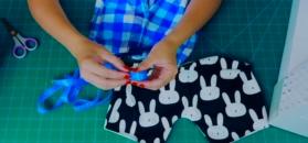 Dziecięce spodenki w króliczki – DIY