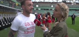 Mateusz Gessler o meczu TVN: