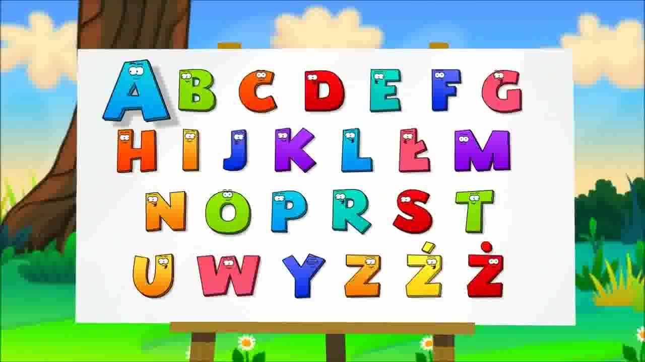 alfabet po polsku animacja z wp tv