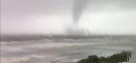 Huragan Irma na nagraniach świadków